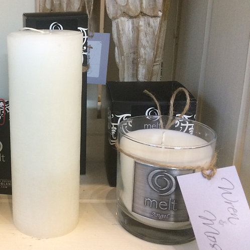 Luxury Glass Scented Candle