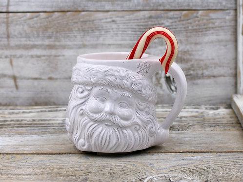 Snowflake Santa Mug