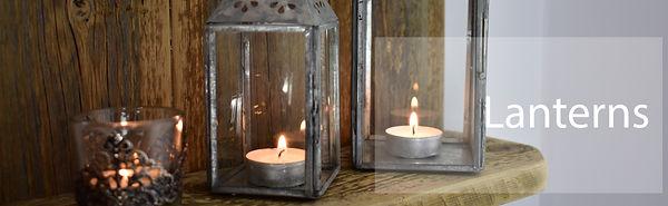 Lanterns on a Shelf