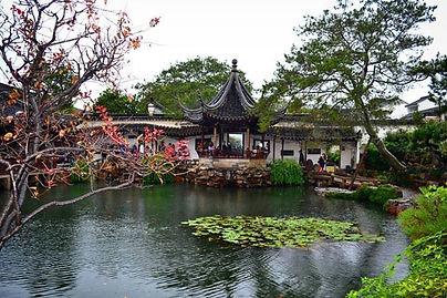 çin tarihi bahçeler