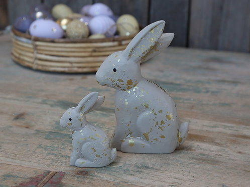 Ceramic Bunny Ornament