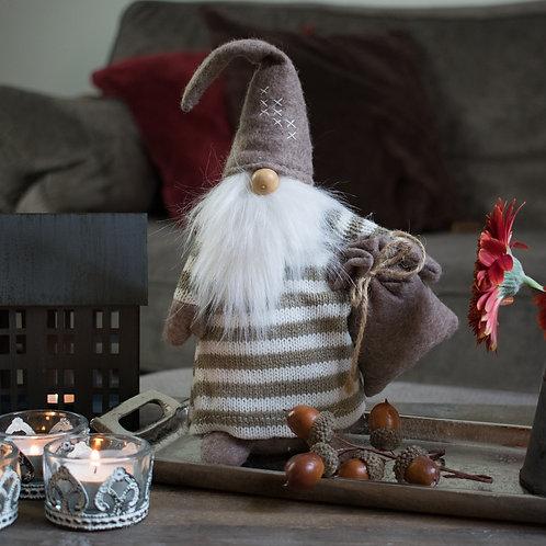 Neutral Fabric Santa