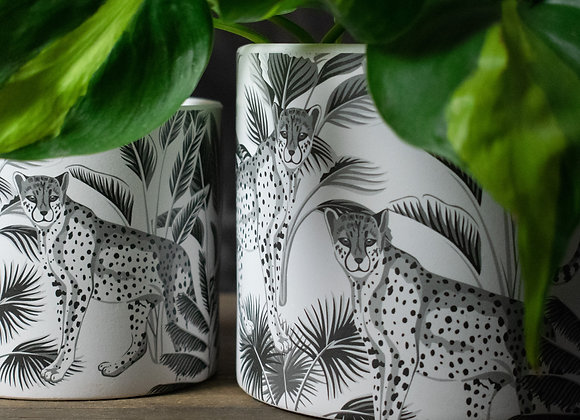 Monochrome Planting Pots for Indoors