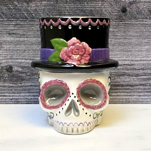 Top Hat Day of the Dead Mug