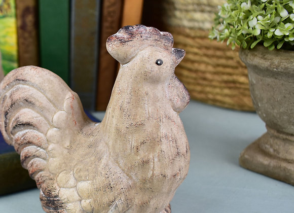 Natural Earthenware Rooster from Parlane