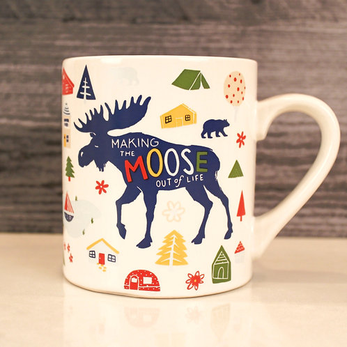 Making the Moose Out of Life Mug