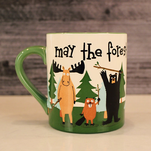 May the Forest Be WithYou Mug
