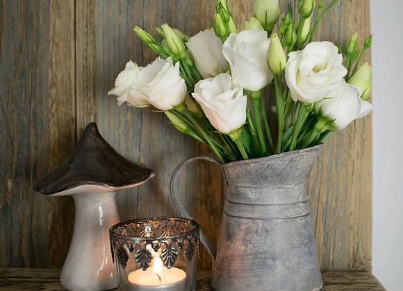 Leaf Patterned Tealight Holder