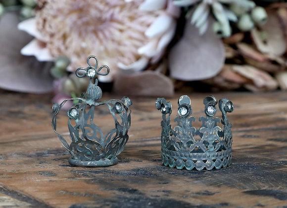 Metal Crown Tealights