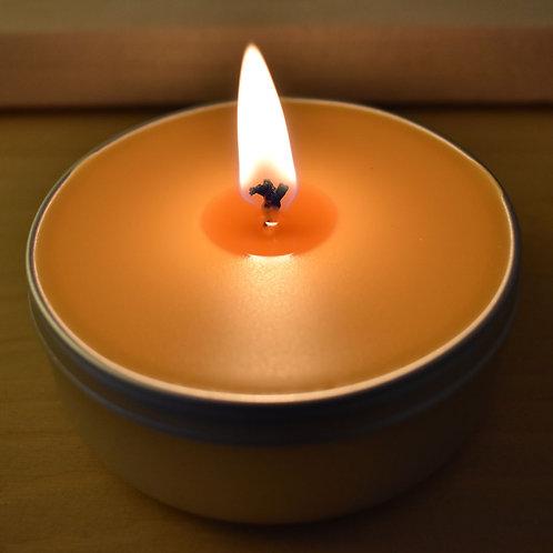 Nutmeg and Vetiver Melt Travel Candle
