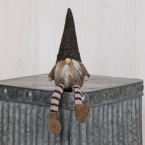 Brown Fabric Gnome