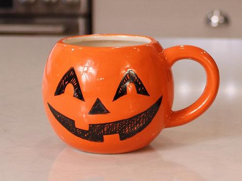 Happy Round Pumpkin Mug