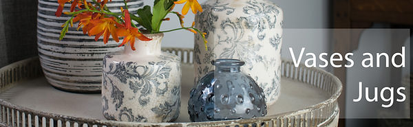 Vases for Flowers on a table