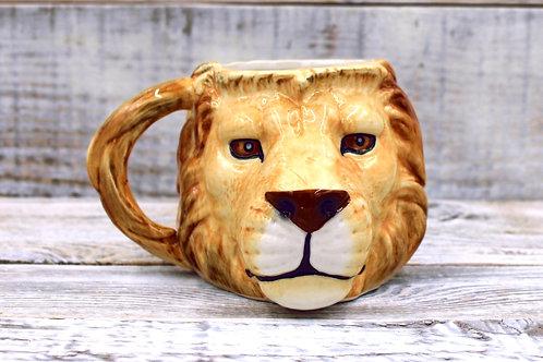 Big Cat Lion  Mug