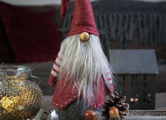 Red Felt Gnome Santa