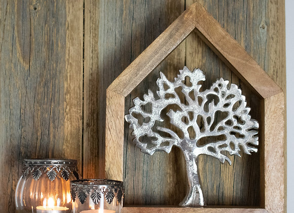 Tree of Life in Wooden Frame