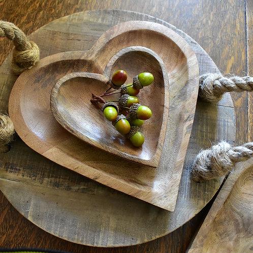 Large Wooden Dish