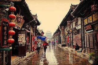 çin pingyao tarihi şehri