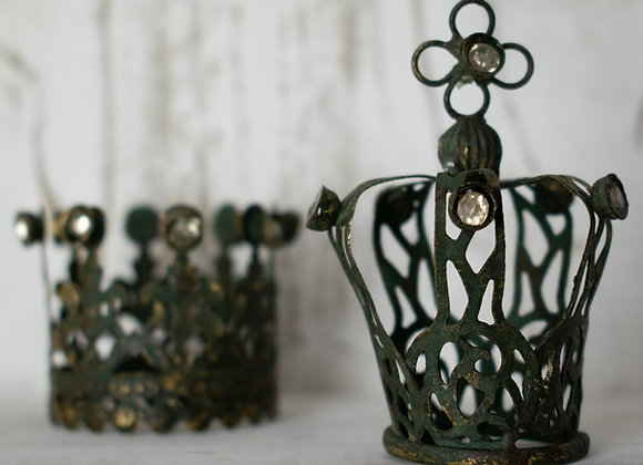 Metal Crown Ornaments