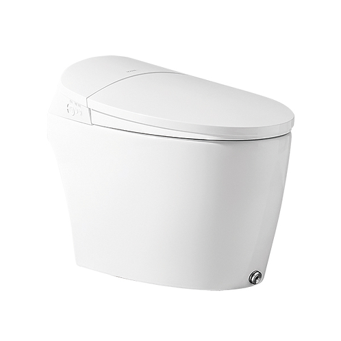 INTEGRATED TOILET & BIDET - iKAHE NUERA Wall Faced