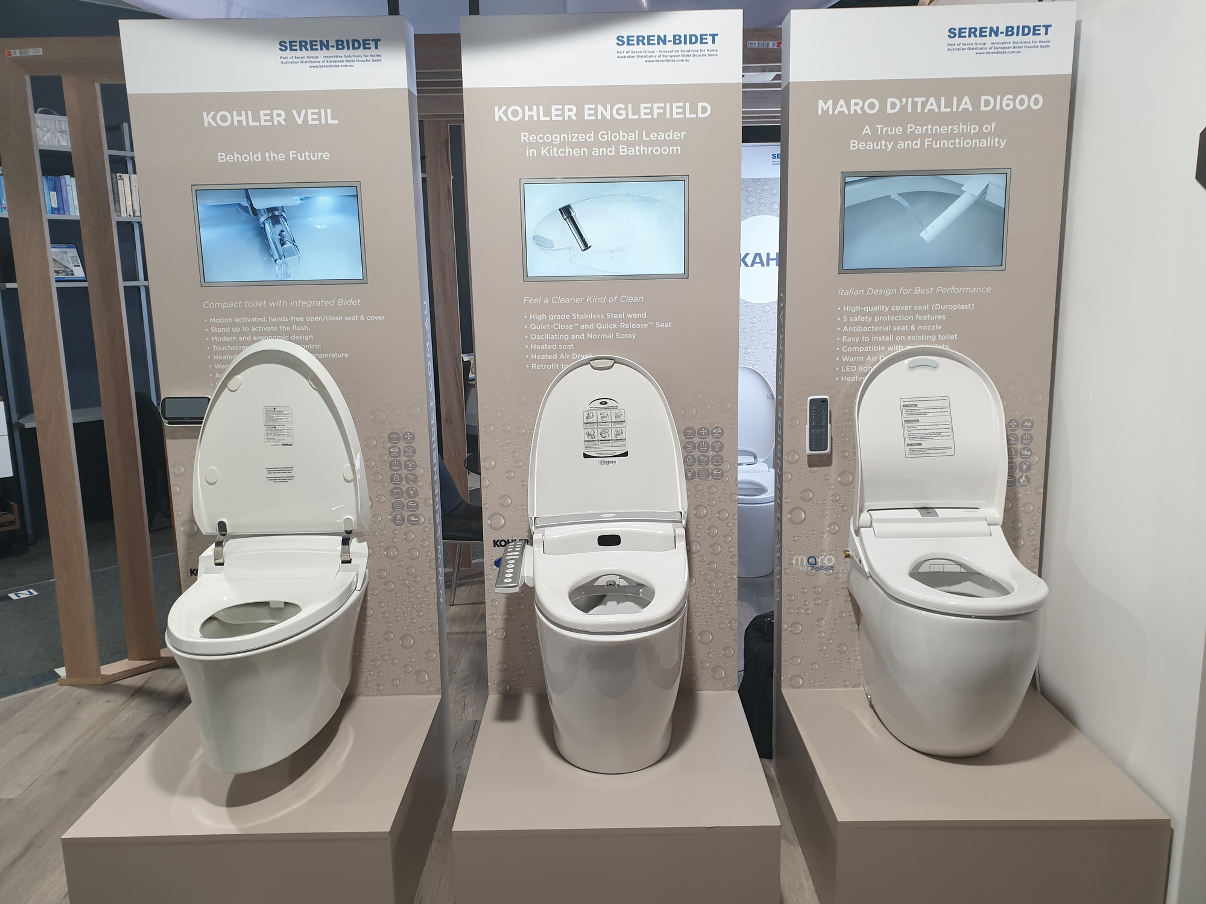 Seren Bidet Japanese Toilet Bidet Seat Australia