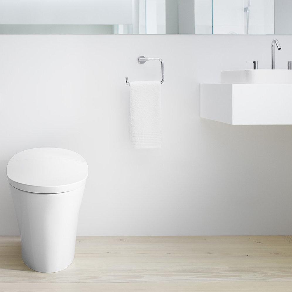 Integrated Toilet And Bidet Kohler Veil Wall Faced
