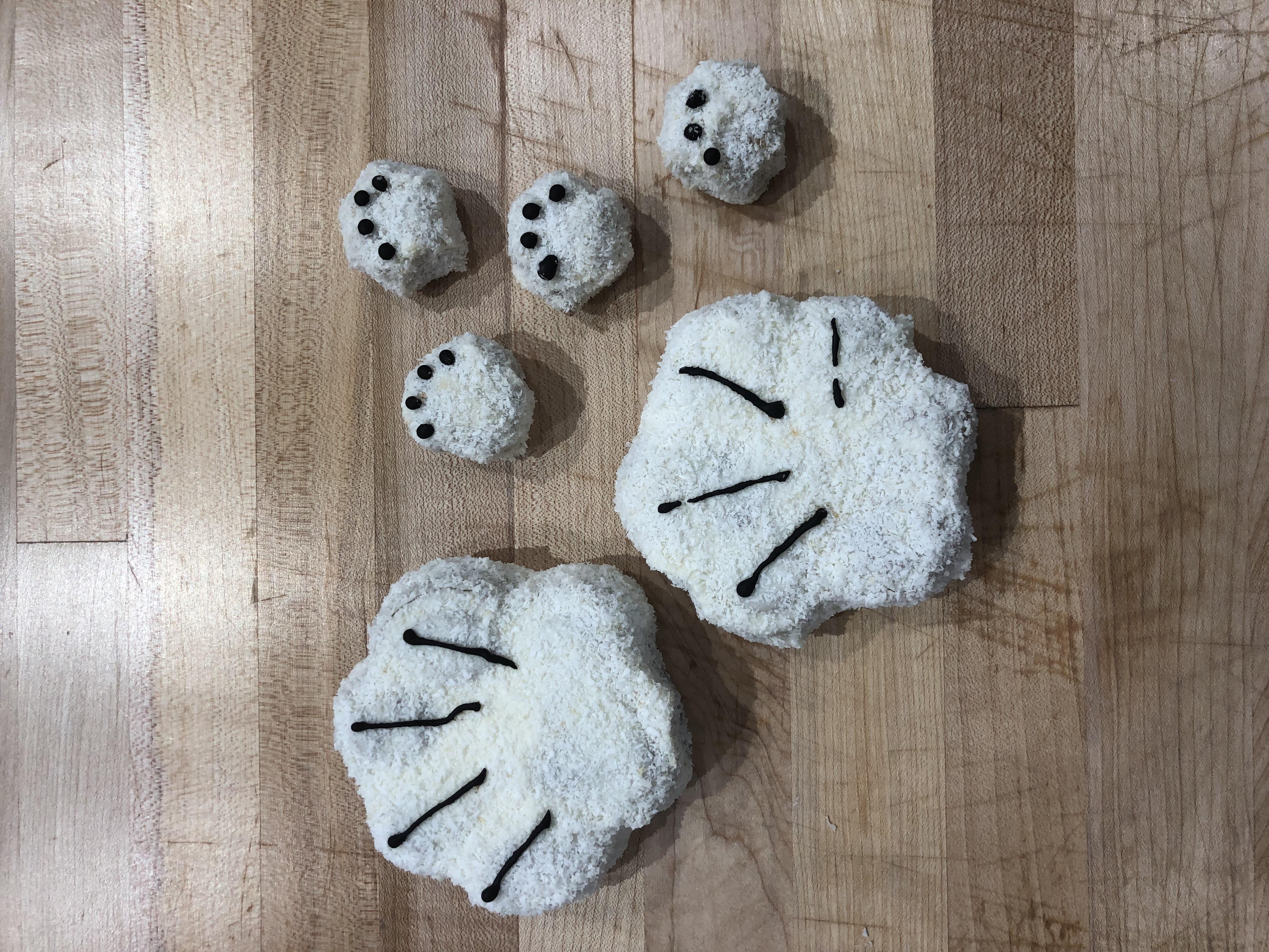 Polar Paw Cookies