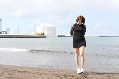 モデル haruna