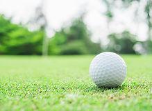pelota-golf-verde-flagstick-pin-borrosa-