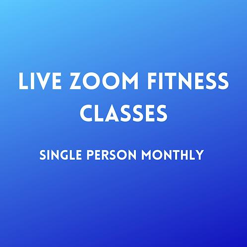 Zoom Class Single Person