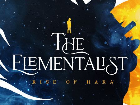 Fantasy Book Cover Reveal for The Elementalist: Rise of Hara