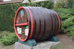 Rénovation du foudre de la vigne du musée