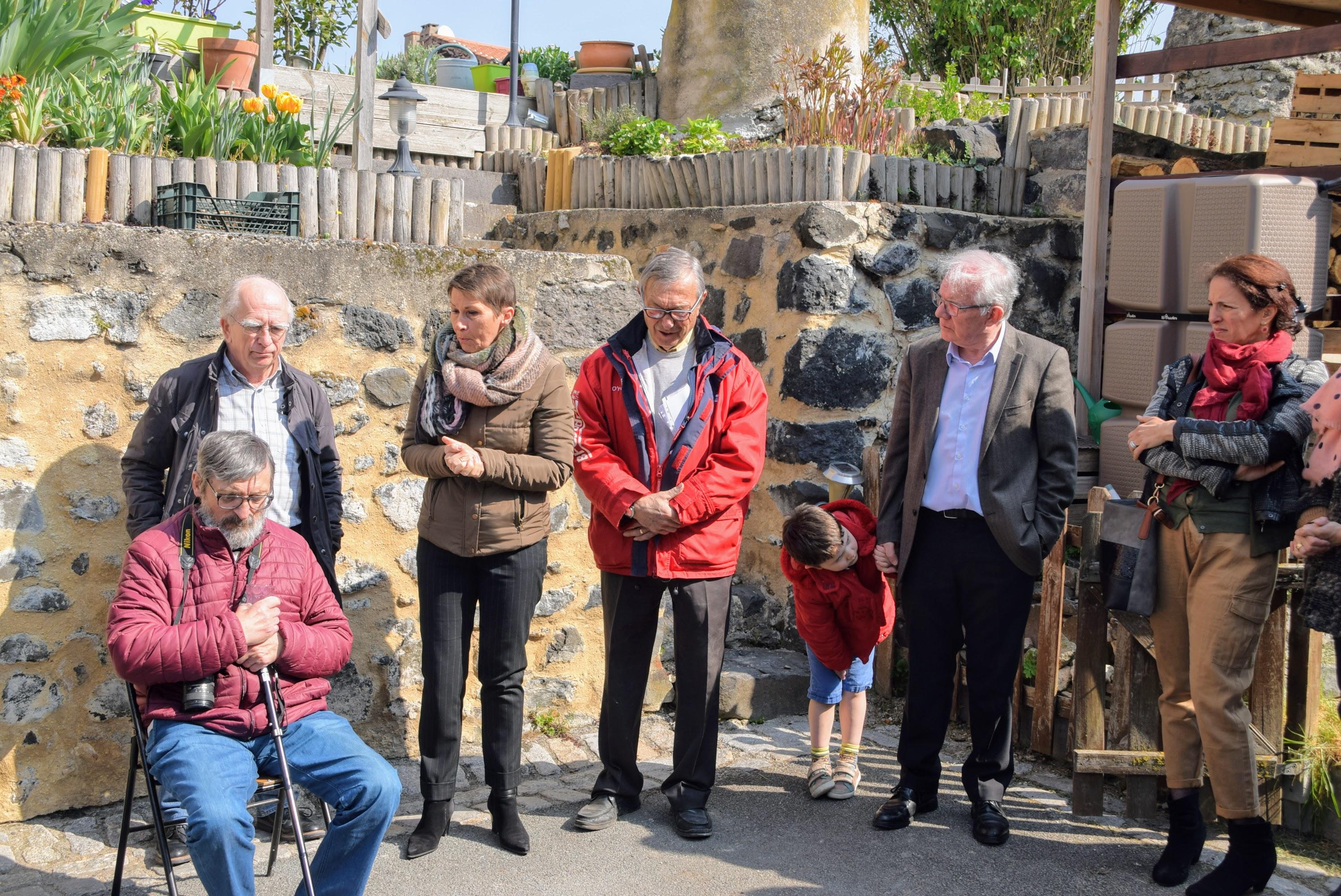 Inauguration de la cave Ysabeau d'Au