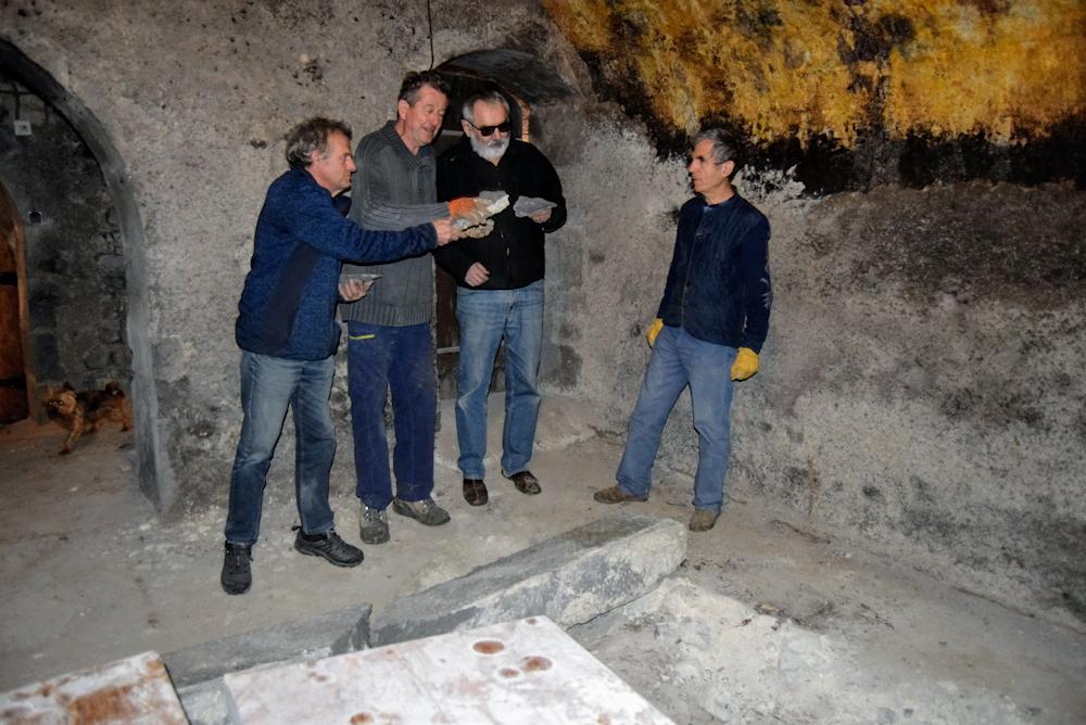 Dans la cave du Zouave
