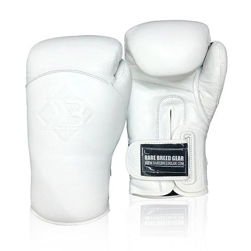 White RBG Hybrid Gloves
