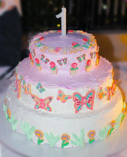 Torta per S. - Fiori&Farfalle Party
