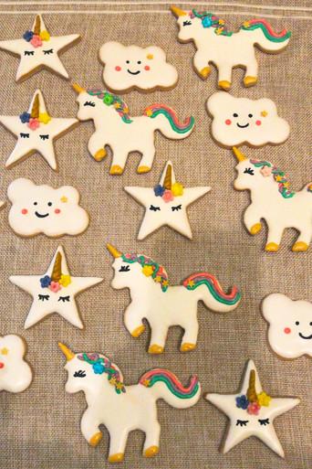 Biscotti glassati - Unicorn Party
