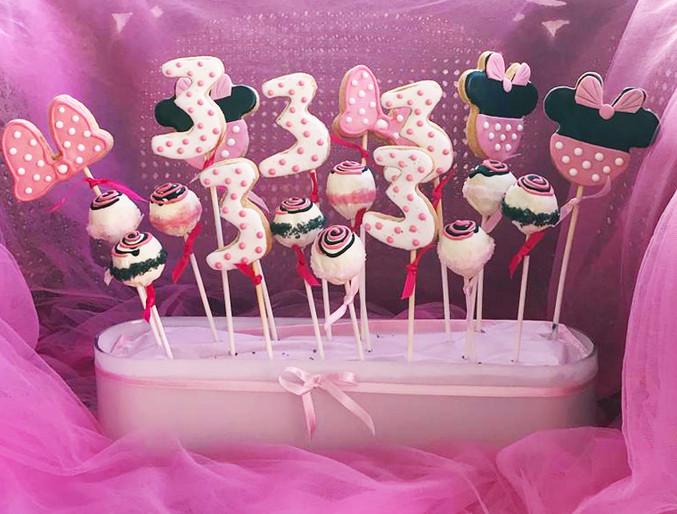 Cakepops - Minnie Party
