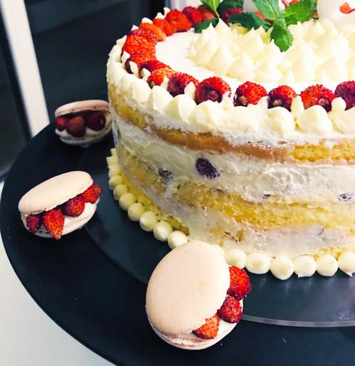 Macarons per la Torta di F.