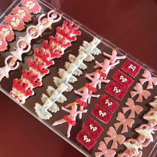 Biscotti glassati - Ballerina Party