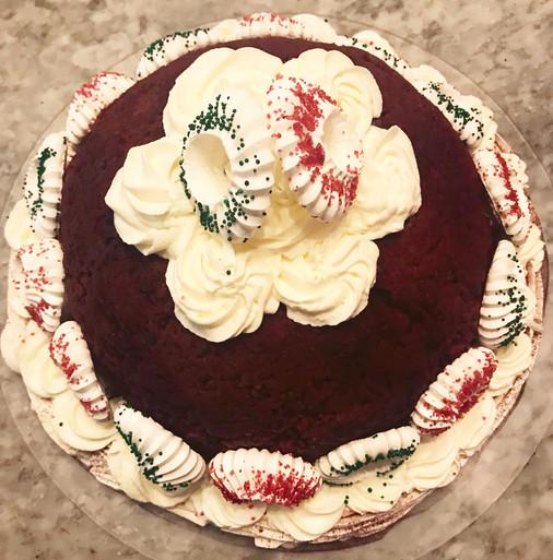 Decoro su Chiffon Cake al cacao
