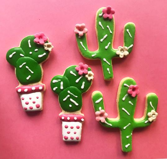 Biscotti glassati Cactus - Lama Party