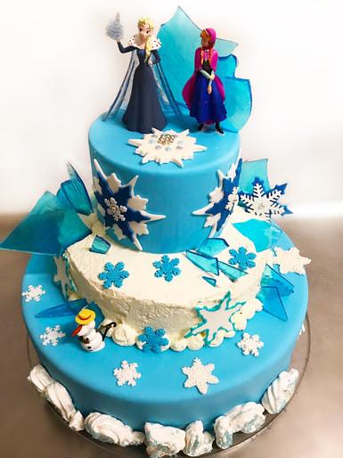 Torta per M. - Frozen Party