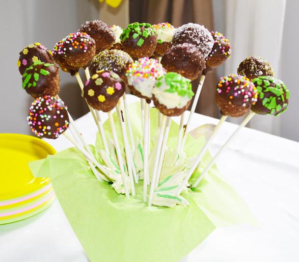 Cakepops Verdi