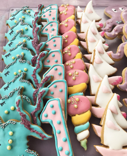 Biscotti glassati - Seaworld Party