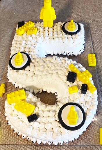 Torta per E. - Lego Party