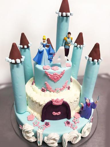 Torta per E. - Cenerentola Party