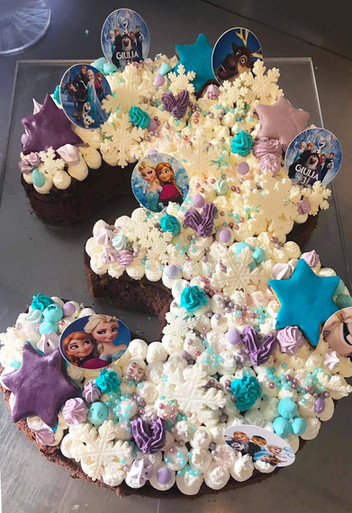 Torta per J. - Frozen Party