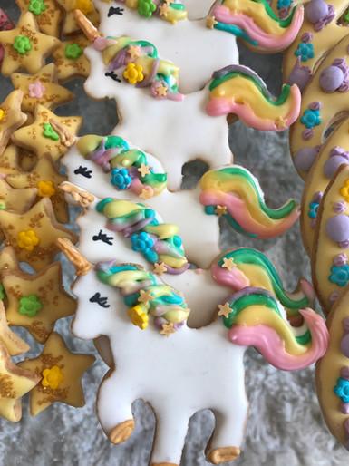 Biscotti glassati 2 - Unicorn Party