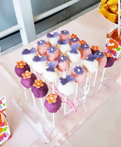Cakepops - Fiori&Farfalle